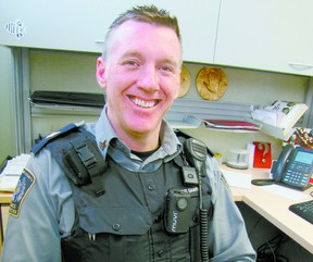 Dwight Dawn, a community peace officer who works four days a week for Lac Ste. Anne County, now will provide part-time service to Mayerthorpe.
