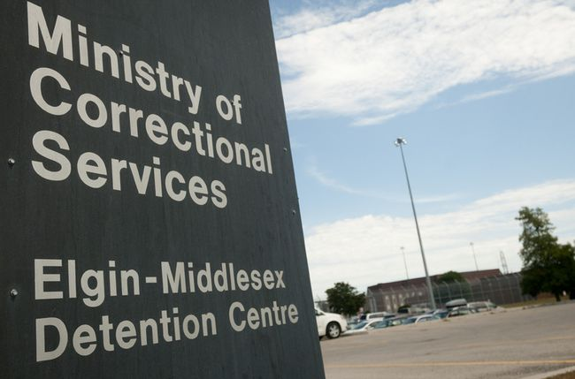 Elgin-Middlesex Detention Centre. (Postmedia Network file photo)