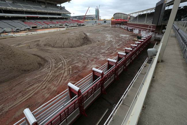 New bucking chutes with enhanced safety features have been installed just in time for this year's Calgary Stampede. Photo by Mike Drew/Calgary Sun.