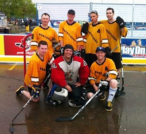 The Northsiders team from Fort McMurray went undefeated at the Edmonton Play On tournament SUPPLIED PHOTO