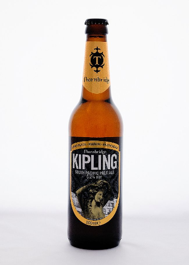 Maybe he's got a significant literary bent, spending long nights straining his eyes in front of the Kindle. The question you have to ask yourself is whether he likes Kipling. For all you know, he may never have kippled, but the folks at the Thornbridge Brewery certainly have. Their Kipling South Pacific Ale is full of Nelson Sauvin hops from New Zealand, giving it an ebullient tropical aroma full of mango and passionfruit.(Supplied)