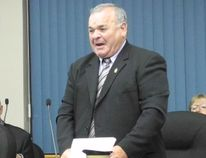 Coun. Andre Rivette speaks during a council meeting on Monday, June 10, 2013.
