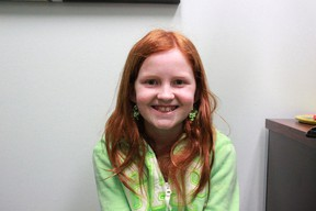 Hannah Rennie, 10, was one of four children nation-wide to win the Kids Write 4 Kids Creative Challenge for her chapter book called 'The Wish.' Celia Ste Croix | Whitecourt Star