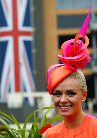 British singer Katherine Jenkins attends the first day of the Royal Ascot horse racing festival at Ascot, southern England, June 18, 2013. REUTERS/Darren Staples