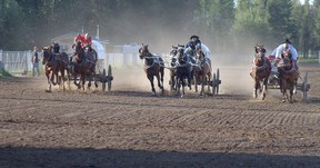 File photo courtesy Don Moon Special to Daily Herald-Tribune WCA action continued in Rycroft this past weekend with Glen Ridsdale earning his first show win of the season.