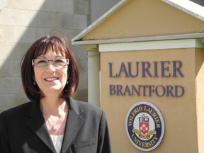 Colleen Miller was the chair of the Grand Valley Education Society,  the group that led the effort to bring a university to Brantford's downtown back in the late 1990s. (VINCENT BALL Brantford Expositor)