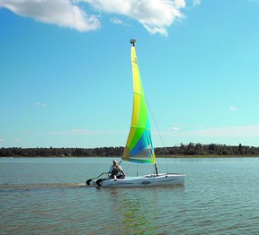 The Cooking Lake Sailing Club is trying to find some more mates as they will hold an introduction to sailing program on Sunday, July 7. Photo supplied