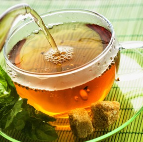 The health benefits of honey are so popular that it is common to see it as an ingredient in cough medicines. Try it in tea to ease your pains. QMI AGENCY