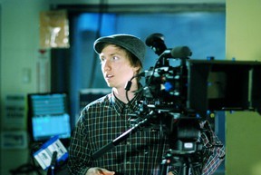 Ryan Foey during the first year of digital cinematography at Canadore College. The college is teaming up with ACTRA to allow union actors to perform at no cost in their productions. (SUBMITTED PHOTO)