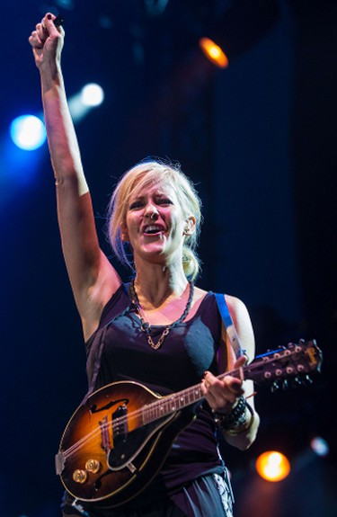 Martie Maguire of the Dixie Chicks performing at the RBC Bluesfest in Ottawa. July 6,2013. Errol McGihon/Ottawa Sun/QMI Agency