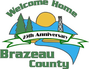 2013 marks the 25 years for Brazeau County being a separate municipality.