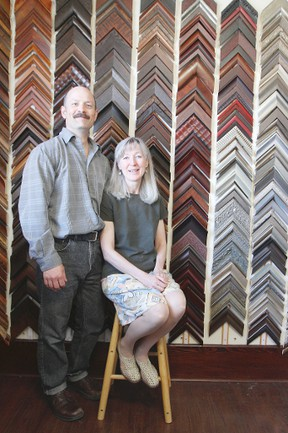 Owned and operated by husband and wife team of Colleen McGinnis and Leon Strembitsky, Caelin Artworks is celebrating its 25th anniversary.