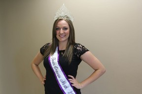 Dominique Cheff, Miss Teen Ontario North 2012, is preparing to compete in her first pageant since last October at Canada's Perfect in Toronto.