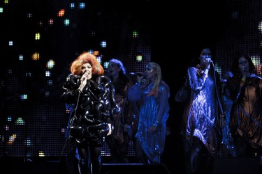 DAY 9 Hyberballad, Bjork: With Stars twinkling on the side stage and a Half Moon Run on the rise, it was the debut of Bjork in Ottawa that enchanted and entranced fans, where all the astrological signs seemed to align in a day of weirdness and wonder.  AFP PHOTO