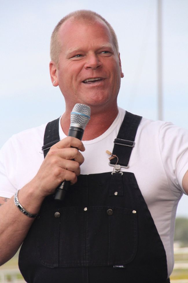KEVIN RUSHWORTH HIGH RIVER TIMES/QMI AGENCY. Mike Holmes, star of television's Holmes on Homes and Holmes Inspection, visited High River in an attempt to give people tips and start to make things right.