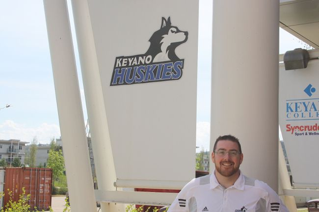 Keyano Huskies new men's basketball head coach David Petroziello will be looking to establish a foundation for future success while also trying to build on last season's achievements.  Robert Murray/Today Staff
