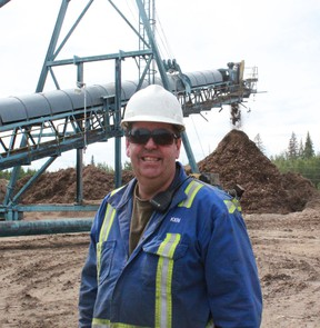 Ken Manning is a fuel technician and power engineer that has worked at Whitecourt Power for the past 15 years. Celia Ste Croix | Whitecourt Star