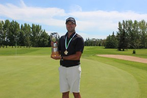 Saskatoon's David Stewart claimed the overall title at the 102nd Amateur Men's Championship at the Melfort Golf and Country Club on Thursday, July 18.