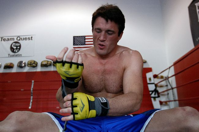 Chael Sonnen: 'I'll return to middleweight after beating Shogun'