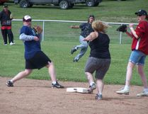 The Edson Kinsmen Slo-pitch Tournament is a lot closer to filling its quota than it was a month ago.