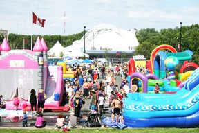 Kenora's Harbourfest becomes home to Tbaytel Kids' Zone on Saturday and Sunday, Aug. 3 and 4. FILE PHOTO/Daily Miner and News