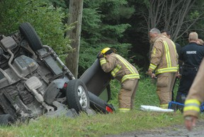 A Toronto woman was charged following a collision at Black Road and Third Line East on July 27, 2013.