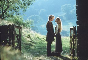 Cary Elwes and Robin Wright starred in The Princess Bride.