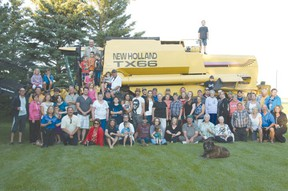 Over 70 family members and friends gathered at the Miller family farm this past weekend to celebrate the 100th anniversary of their farm.