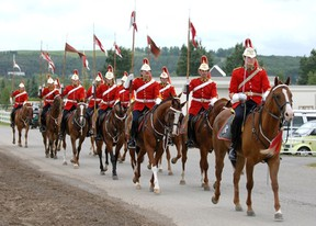 The Lord Strathcona Mounted Troop will be in Valleyview Aug. 10-11. (Supplied)