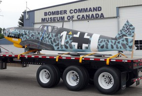 KASSIDY CHRISTENSEN NANTON NEWS/QMI AGENCY The Bristol Hercules 14 cylinder radio aircraft will be on display Aug. 24 at the Salute to the Legion and will be fired up along with the Lancaster aircrafts.