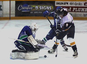 Former Kirkland Lake Gold Miners forward Royce King was traded this week to Blind River