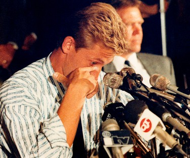 """WAYNE GRETZKY, EDMONTON OILERS: Where were you Aug. 9, 1988? In a move that stunned the hockey world, then-Oilers owner Peter Pocklington traded -- or sold -- Gretzky to the Los Angeles Kings in a multi-player deal. """"I still hear it. I mean, all the time,"""" Gretzky said in an interview with QMI Agency's Terry Jones this month when asked if he still hears from people who told him where they were when the deal went down. Gretzky made it to one final with the Kings, but didn't win. He wrapped up his career in St. Louis and with the Rangers."""