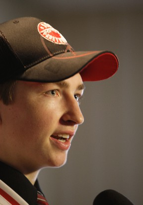 Sault Ste. Marie's Blake Speers is readying for his rookie Ontario Hockey League season after being selected by the hometown Soo Greyhounds in the first round (11th overall) of the 2013 draft.