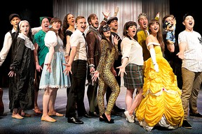 The cast of The 11 O'Clock Number! Photo Supplied