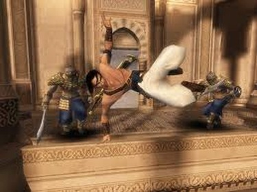 An oldie but a goodie, Prince of Persia: The Sands of Time, was one of the best games to come out of Canada. Developed by the Ubisoft Montreal team, this title was the title to relaunch the series. (Courtesy Ubisoft)