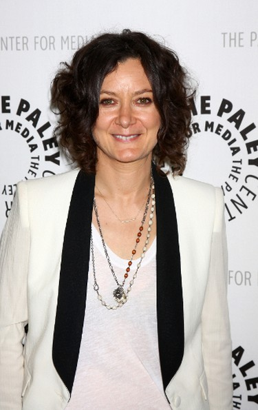 """Sara GilbertSara Gilbert quietly came out of the closet during a press conference for her show """"The Talk"""" at the Television Critics Association in Los Angeles in 2010. The TV star, who had kept mum about her private life, was asked if she was comfortable being """"out"""" on the show. Her answer: """"This is a whole new world for me. I'm not an expert on this, or I don't analyze these things...I'm just sort of living my life."""" (Nikki Nelson/WENN.COM)"""