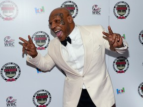 Former heavyweight champion Mike Tyson says he fears for his own life. (AFP)