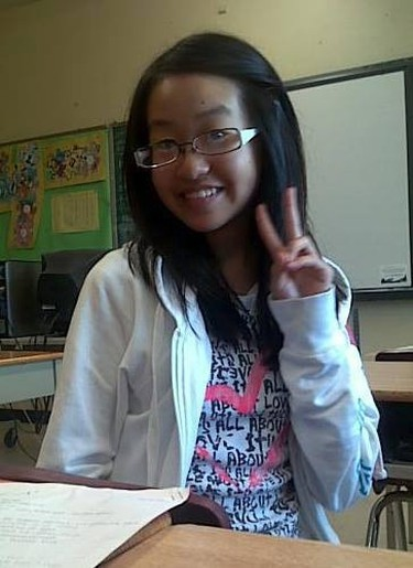 A Facebook photo of Violet Liang