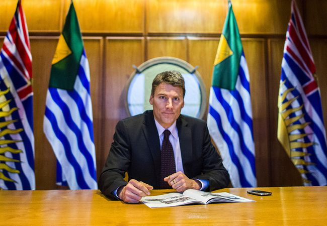 Vancouver Mayor Gregor Robertson. (24 HOURS FILE PHOTO)