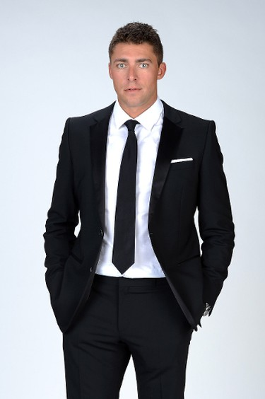 Joffrey Lupul of the Toronto Maple Leafs poses for a portrait during the 2012 NHL Awards at the Encore Theater at the Wynn Las Vegas on June 20, 2012 (Harry How/Getty Images/AFP)