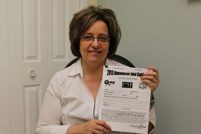 Lisa Girard, is a sales representative for Claim Post Realty Ltd. Brokerage here in Cochrane. She is promoting the brokerage's Announcer Idol 2013 contest in Cochrane and encourages any Grade 4, 5 or 6 students to enter.