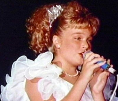 """Was a one time winner on """"Star Search"""" in 1990, in the junior vocalist competition..."""