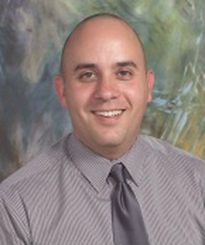 David Turcotte, new assistant principal at Percy Baxter School. Submitted