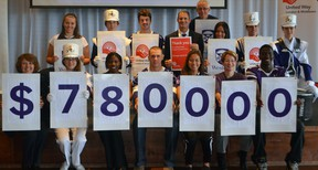 Western University has set its 2013-14 United Way campaign fundraising target at $780,000. The announcement was made Oct.16,2013 at Western. SHOBHITA SHARMA/LONDONER/QMI AGENCY