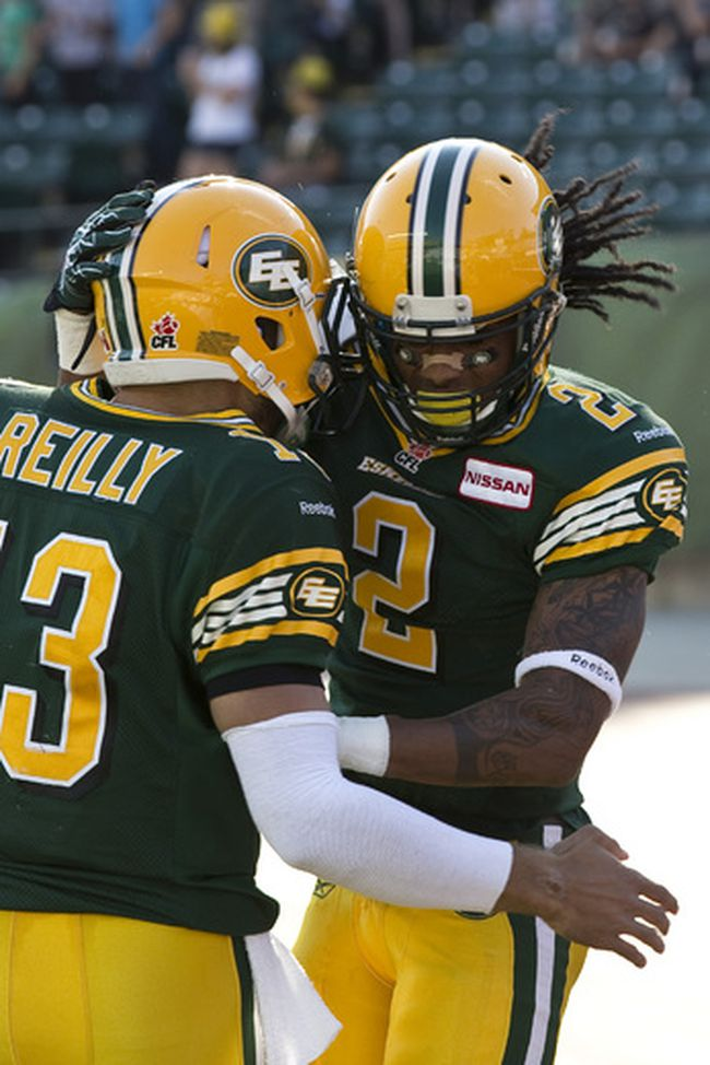 Mike Reilly and Fred Stamps
