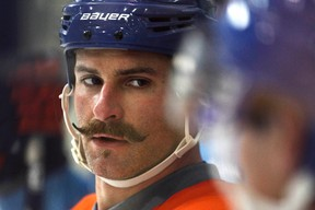 Mike Brown had 19 penalty minutes with the Oilers this season. (Codie McLachlan, Edmonton Sun)