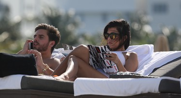 Like her sister, Kourtney Kardashian also gave birth to her children before stating she would marry long time boyfriend, television personality Scott Disick, on their tenth anniversary. The two began dating in 2006 and have two children together, son Mason and daughter Penelope.   WENN