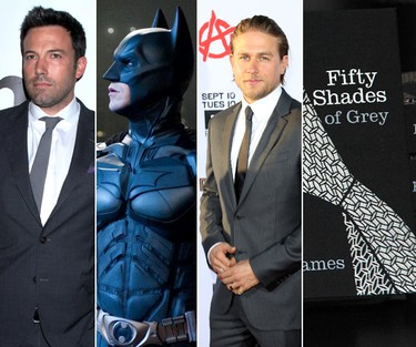 Short of Ben Affleck donning Batman's cowl in the next Man of Steel movie, there hasn't been a bigger fan-driven outrage over a casting choice this year than actor Charlie Hunnam signing on to play kinky millionaire Christian Grey in Fifty Shades of Grey. When the part is recastand the movies are made, it'll probably seem odd to think of anyone else having been considered.Here's a look at some other actors who nearly wound up in iconic roles.