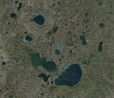 The landscape in this part of Russia looks like it's from another planet! (Google)