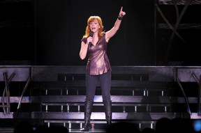 Country music star and actor Reba McEntire sings during a concert at the K-Rock Centre in Kingston on Sunday October 27 2013. IAN MACALPINE/KINGSTON WHIG-STANDARD/QMI AGENCY